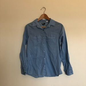 Urban Outfitters BDG Blue Shirt